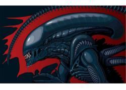 科幻小说,Xenomorph,外星人,外星人(电影),电影,艺术品,概念艺
