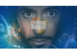 钢铁侠,贾维斯,操作系统,错误,Windows 7的,幽默,电影,惊奇的电影