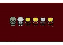 钢铁侠,超级英雄,极简主义,红,惊奇的电影宇宙,漫威漫画528392