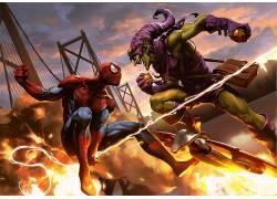蜘蛛侠,漫威漫画,电影,漫画,绿色小妖精,超级英雄573020