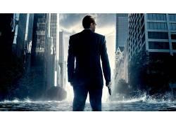 盗梦空间,莱昂纳多・迪卡普里奥,水,摩天大楼,电影47480