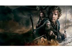 电影,霍比特人,霍比特人:五军之战,甘道夫,比尔博巴金斯,Thorin