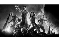 银河护卫队,单色,电影,惊奇的电影宇宙40568