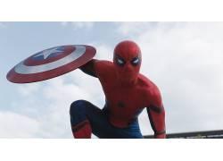 蜘蛛侠,美国队长,美国队长:内战,彼得帕克,屏蔽,电影,惊奇的电影