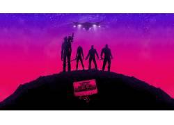 银河护卫队,漫威漫画,星主,画画,电影65408