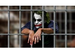 蝙蝠侠,动漫,电影,滑稽角色,监狱,MessenjahMatt,黑暗骑士,艺术品