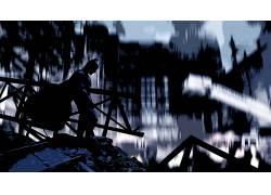 蝙蝠侠,毁坏,轮廓,MessenjahMatt,电影56606