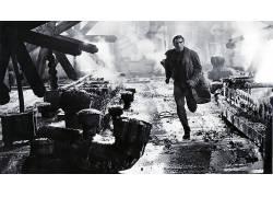 银翼杀手,电影,屏幕截图,哈里森福特,瑞克戴克德199734
