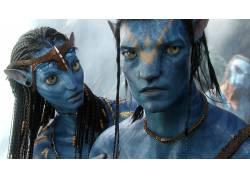 阿凡达,蓝色的皮肤,电影,科幻小说90071