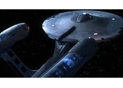 空间,飞船,星际迷航,USS企业(飞船),电影54655
