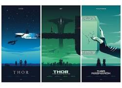 雷神,电影,海报,电影海报,奇迹漫画,奇迹电影宇宙,托尔:拉格纳罗