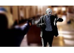 蝙蝠侠,黑暗骑士,小丑,MessenjahMatt,电影,滑稽角色,景深113542