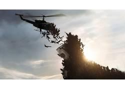 第二次世界大战,僵尸,直升机,电影14202