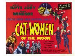 电影海报,B电影,月亮的猫妇女,psychotronics115312