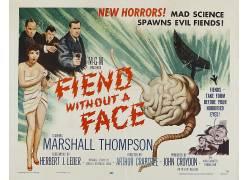 电影海报,B电影,没有面孔的恶魔,psychotronics,电影海报,电影116