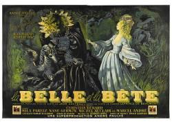 电影海报,La Belle et laBête,Jean Cocteau,美女和野兽,电影海