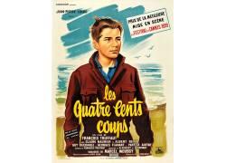 电影海报,Les quatre美分的政变,Fran?ois Truffaut,电影海报107