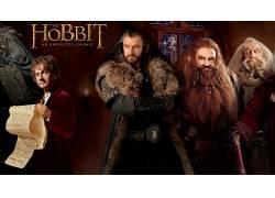 霍比特人:意外旅程,电影,比尔博巴金斯,Thorin橡木护盾52439