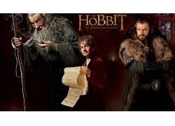 霍比特人:意外旅程,电影,比尔博巴金斯,甘道夫,Thorin橡木护盾52