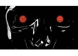 终结者,机器人,天网,电影,艺术品,半机械人,机71266