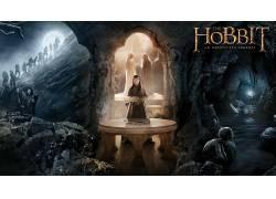 霍比特人:意外旅程,电影,甘道夫,凯兰崔尔,咕噜,小矮人,埃尔隆德