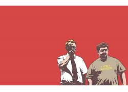 西蒙Pegg,死者肖恩,尼克弗罗斯特,电影,简单的背景50323