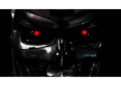 终结者,电影,内骨骼,机,半机械人,科幻小说,红眼睛47477