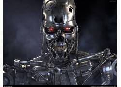 终结者,电影,数字艺术,半机械人,内骨骼1989