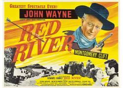电影海报,红河,霍华德霍克斯,约翰韦恩,电影,西113842
