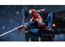 视频游戏,数字艺术,蜘蛛侠,奇迹漫画,奇迹电影宇宙,蜘蛛侠(2018