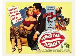 电影海报,致命的吻我,罗伯特奥尔德里奇,电影海报107837