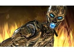 终结者3:机器的崛起,终结者,电影,半机械人682943