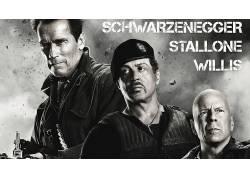 电影,史泰龙,布鲁斯・威利斯,阿诺德・施瓦辛格,轰天猛将52365