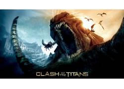 电影,泰坦之战,电影海报54013