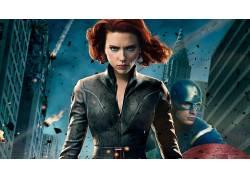 电影,复仇者,美国队长,黑寡妇,斯嘉丽约翰逊,克里斯埃文斯,惊奇的
