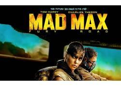 电影,疯狂的麦克斯:狂暴之路,疯狂的麦克斯,查理兹塞隆,电影海报