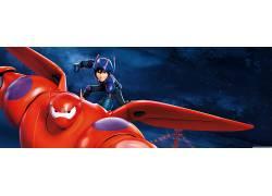 电影,皮克斯动画工作室,迪士尼,Baymax(大英雄6)216772