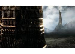 电影,指环王,指环王:双塔,的Orthanc,巴拉德-d・R53581