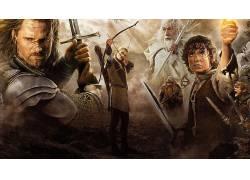 电影,指环王,指环王:国王的归来,佛罗多巴金斯,莱格拉斯,阿拉贡,
