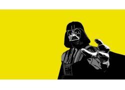 电影,星球大战,达斯维达,黄色背景,西斯,简单的背景53923