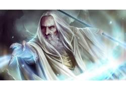 电影,萨鲁曼,巫师,指环王,中土世界的守护者180926