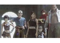 电影,最终幻想,最终幻想VII:来临儿童,蒂法洛克哈特,Yuffie Kisa