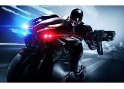 电影,机械战警,摩托车154392