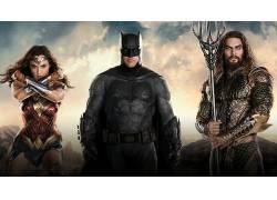 电影,蝙蝠侠,神奇女侠,了Aquaman,dceu,DC漫画,盖尔・加朵,本阿弗