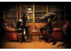 棋,外星人(电影),捕食者(电影),外星人与掠夺者,图书,Xenomor