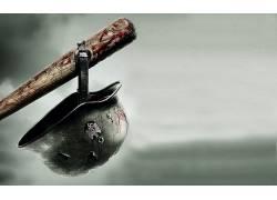 棒球棒,头盔,血液,纳粹,电影218858