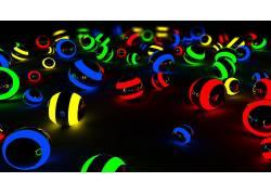 球,灯火,电影院4D,数字艺术,艺术品2801