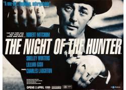 猎人之夜,电影海报,罗伯特米奇姆,黥,Charles Laughton,电影海报1