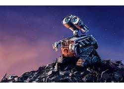 瓦力,机器人,电影,动画,艺术品,皮克斯动画工作室485671