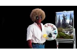 死侍,非洲,绘画,鲍勃罗斯,幽默,电影591496